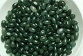 New  10pcs Imperial Green Real 100% Natural Jade/Jadeite Oval Loose Beads Pendant