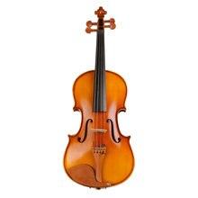 цена на Performance Handmade Violin Technology Pattern 4/4 3/4 1/2 Adult Solid Wood Grading violinTL001-3A