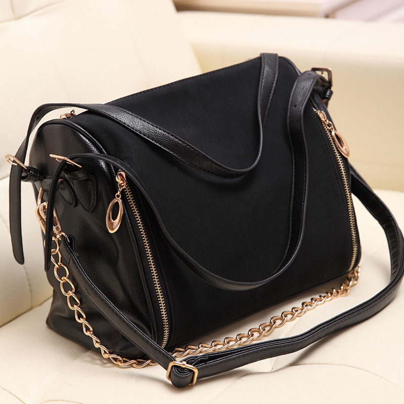 Women Shoulder Bag Leather 2017 Female Fashion Vintage Messenger Crossbody Brand Designer Handbags High Quality Small Bags In From