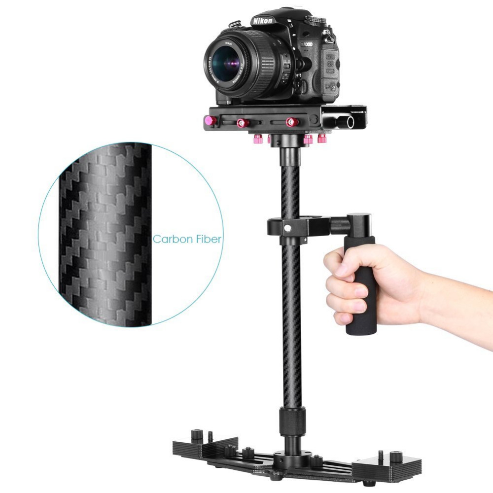 Neewer 27/68cm Handheld Carbon Fiber Alloy Stabilizer with 1/4 Quick Release Plate for Canon/Nikon/Sony Camcorder Camera DSLR free shipping l2245w logic board 4h 0eh01 a00 driver board original 100