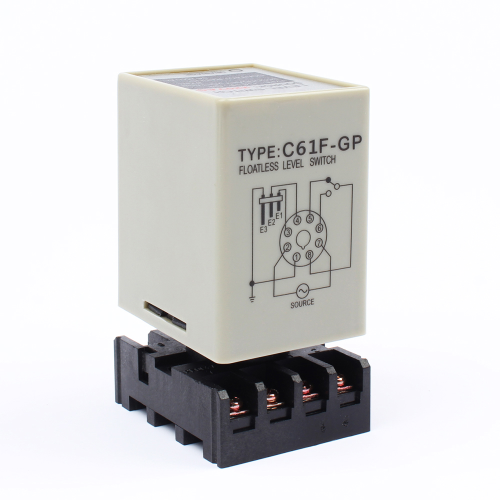 Product introduction: Level relay using special integrated chips and liquid  level control circuit ...