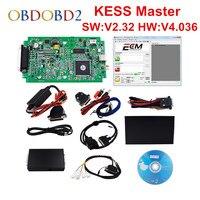 Newest Hardware V4 036 KESS V2 V2 15 OBD2 Manager Tuning Kit Master Version No Tokens