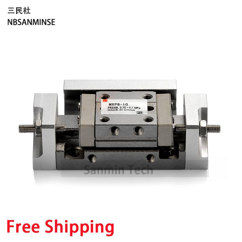 MXP SMC Similar Type Cylinder Pneumatic Slide Table Cylinder Air Compressed Slide Table Series Cylinder Sanmin high quality double acting pneumatic gripper mhy2 25d smc type 180 degree angular style air cylinder aluminium clamps