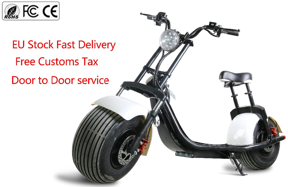 harley electric scooter harley citycoco with turn light. Black Bedroom Furniture Sets. Home Design Ideas