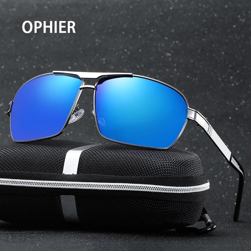 OPHIER Fashion Brand Sunglasses Men Polarized Driving Fishing Glasses New Polaroid Mens Oculos De Sol