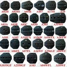Сменные обжимные наборы/губки для пневматического обжимного инструмента AM-10 и Электрический обжимной инструмент EM-6B2, ручные обжимные плоскогубцы($3/шт