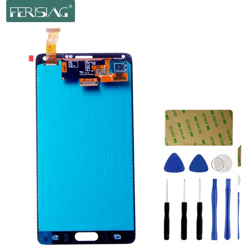 ▽AAAA+ AMOLED For SAMSUNG GALAXY Note 4 N910 N910A N910F