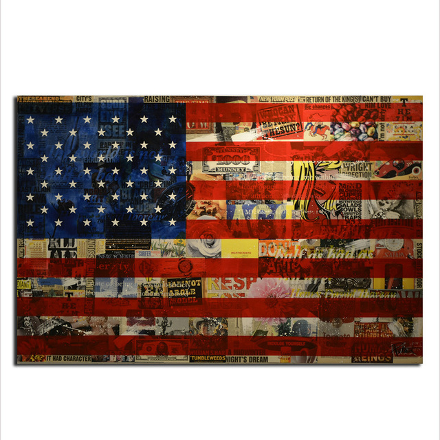 Marvelous American Flag Wall Art, Modern Canvas Prints Wall Art Hanging Paintings Wall  Decor Artwork For