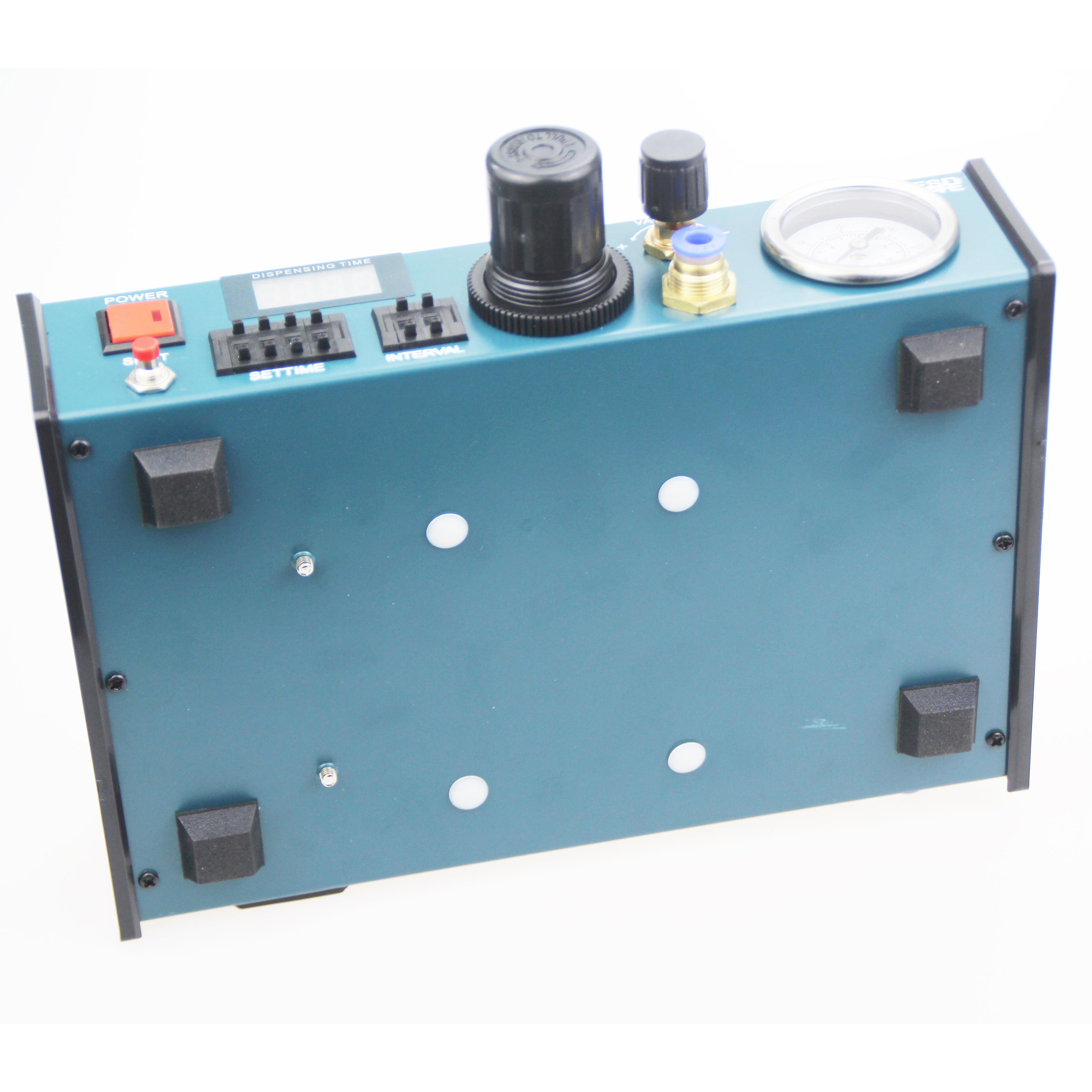 Tools : Free shipping VBP-983A Professional Precise Digital Auto Glue Dispenser Solder Paste Liquid Controller Dropper 220V