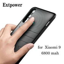 6800mah Ultra Thin Power Bank Case For Xiaomi 9 Portable Fast Battery Charger Phone Case For Mi9 Cover