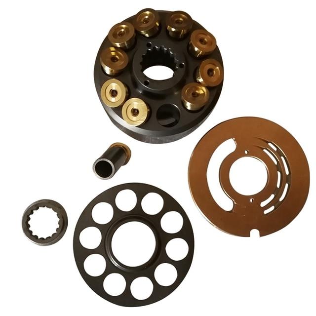 Nachi PVD 00B Pumps Parts PVD 00B 14P/15P/16P Pumps Internal Parts Repair Kits Cylinder Block Piston shoes Valve Plate Set Plate