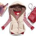 2016 горячие продажа зима жилет толстые теплые женщин куртка без рукавов жилет уличный стиль colete feminino плюс размер MJ1