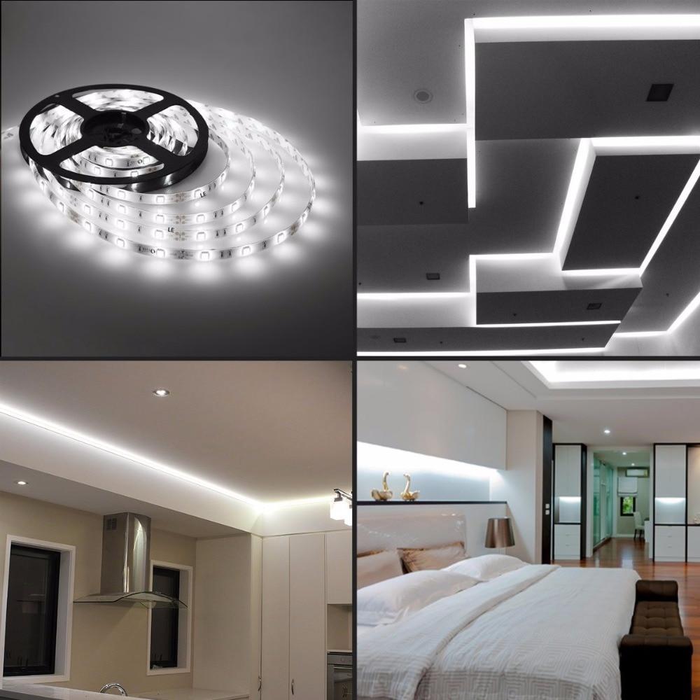 led strip licht 5050 waterdicht ip65 150led 5m dc 12v 3000K 6500k - LED-Verlichting - Foto 5
