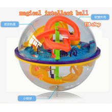 118 steps kind game intellect magic ball toys, Orbit Intelligence Christmas New year Gift,3D novetly educational toy ball
