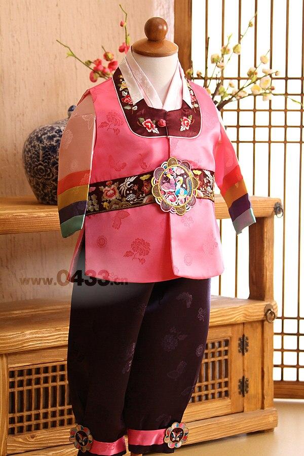 2019 New Boy Kid Korean Dolbok Baby Hanbok Dress Birthday Party Costume National For Halloween Play US