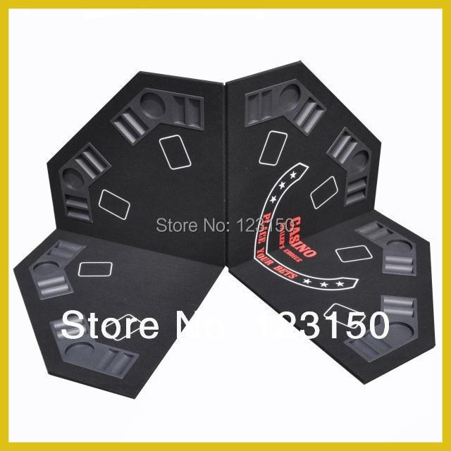 EVA-01   Poker Table Top, Foldable Casino Tabletop, EVA Material, Four Fold