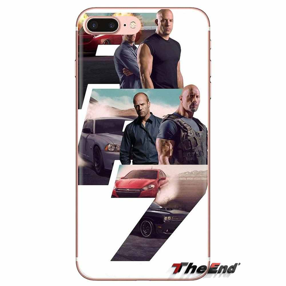 Transparante Soft Skin Cover Fast and Furious 7 Paul Walker Voor iPod Touch Apple iPhone 4 4 S 5 5 S SE 5C 6 6 S 7 8 X XR XS Plus MAX