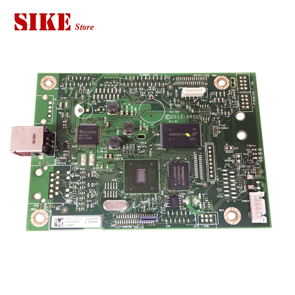 C5F92-60001 Logic Main Board Use For HP LaserJet M403d M402d M403 M402 403d 402d Formatter Board Mainboard контейнер для игрушек pilsan сундук розовый 06 189