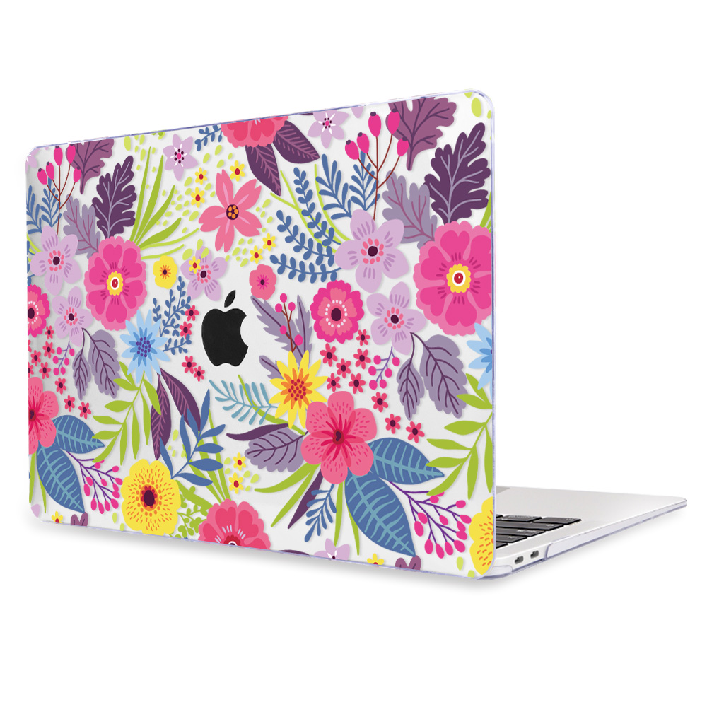 Redlai Colorful Flowers Case for MacBook 41
