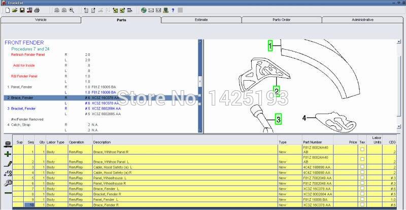 Mitchell Heavy and Medium Truck Estimator System 2016+Crack 93 mitchell