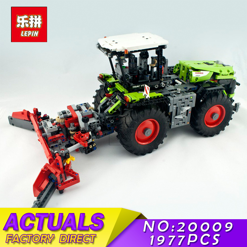 LEPIN 20009 1977pcs technic series The tractor Model Building blocks Bricks Compatible with 42054 boy's favourite lepin 20009 1977pcs technic series the tractor model building blocks bricks compatible with 42054 boy s favourite
