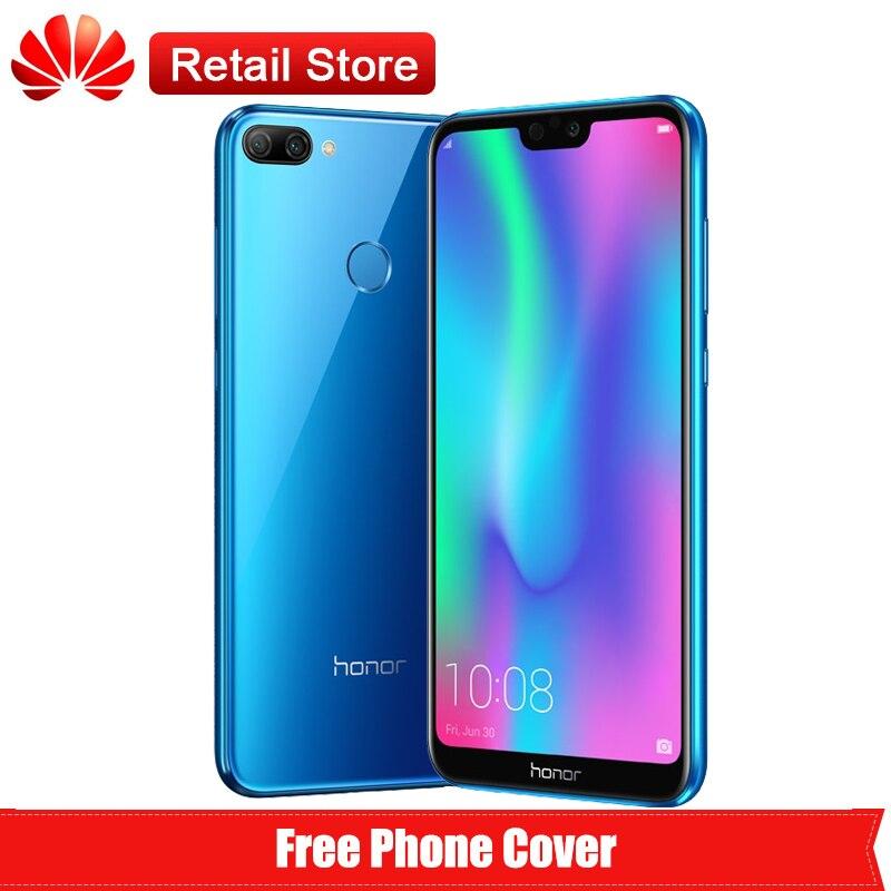 "Huawei Honor 9N 9i 4G LTE смартфон 5,84 ""FHD Дисплей Kirin 659 Android 8,0 Octa Core Dual Камера Face ID 3000 мАч 4G B 6 4G B"