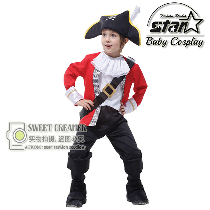 Children's Classic Halloween Costumes Boys Hook Pirate Costume Kids Carnival Clothing Masquerade Cosplay Clothes Set halloween costumes for children boys kids cosplay costume fantasia disfraces game uniforms kids clothes set