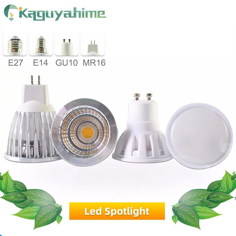 Green Eye LED Lamp GU10 MR16 LED Bulb E27 E14 3W 5W 6W 7W 220V 240V Lampada Aluminum LED Spotlight Energy Saving Home Lighting
