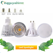 Green eye LED Lamp GU10 MR16 Bulb E27 E14 3W 5W 6W 7W 220V 240V Lampada aluminum Spotlight Energy Saving Home Lighting