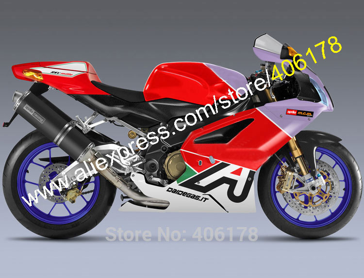 Hot Sales,For Aprilia RSV 1000 R Part 03 04 05 06 RSV1000 R 2003/2004/2005/2006 RSV-1000 Multi-color Body works Fairing Body Kit
