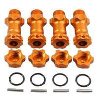 1 Set 17mm Wheel Hex Hub Extension Adapter 30mm For 1:8 Scale RC Car Kids Remote Control Toys Accessories