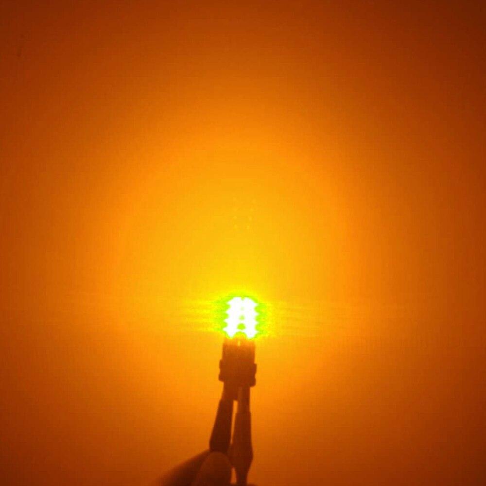 2X A19 45 Вт 1156 BA15S 1157 BA15D 18 светодиодный высокое Мощность указатель поворота Парковка лампа Авто белый янтарный красные, синие зеленый 12 В 24 В