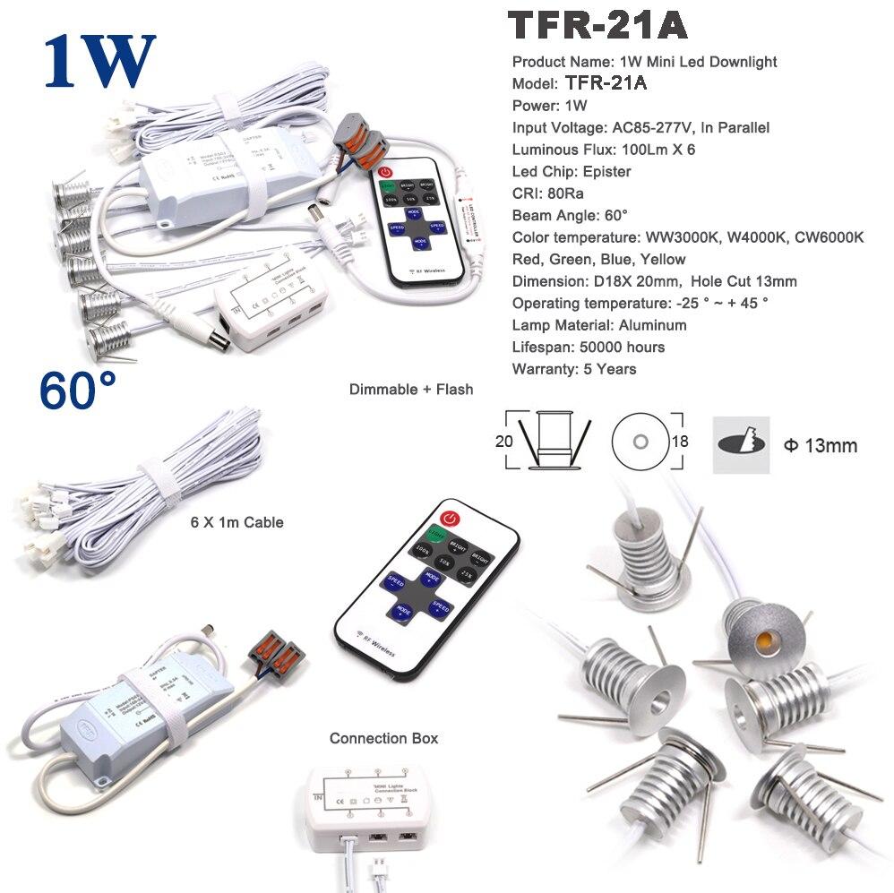 12PCS CE RoHS 1W 13mm cut Epister led spotlight 80Ra mini led spot lighting lamp 1watt showroom display light