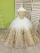 Lovely Children Christmas Ball Gown Girls Pageant Dresses with Champagne Lace Appliques Bow Flower Girl Dress for Weddings Custo недорого