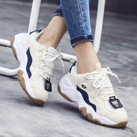 CAMTOO Spring Autumn Fashion Women Casual Shoes Brand Platform Shoes Woman Sneakers Ladies Trainers Chaussure Femme Size 35 40