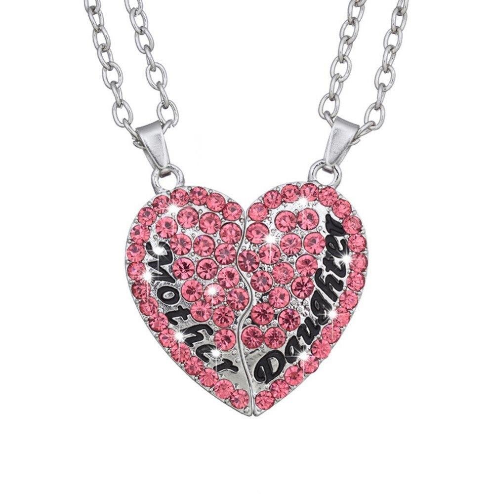 ᓂNuevo mosaico de la madre y de la hija del collar del corazón ...