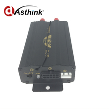 COBAN TK103B Vehicle Car GPS tracker Remote Control GPS103B Car Alarm Quad band SD card slot