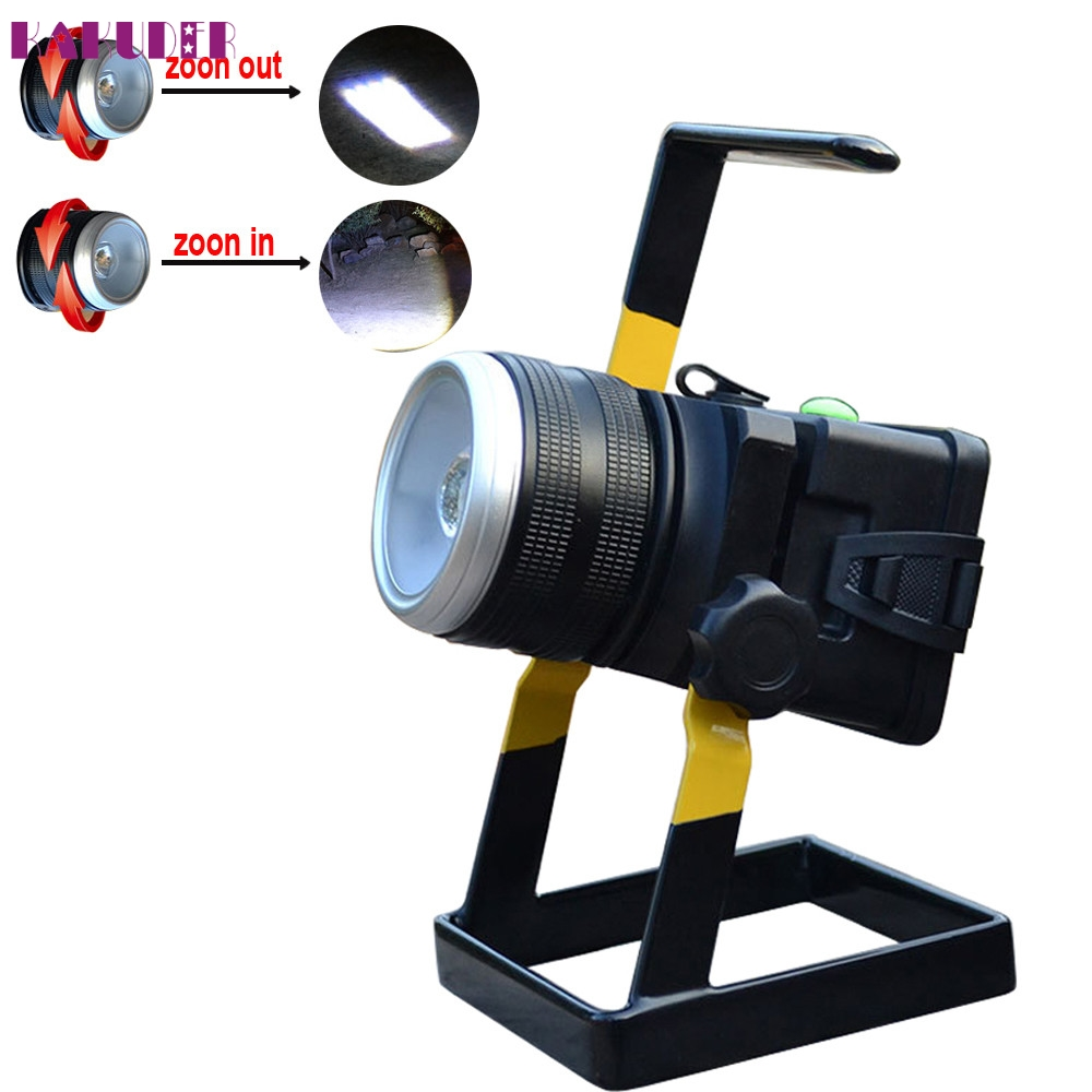 High Quality 30W 2400LM XML T6 LED Rechargeable Zoomable Flood Light 18650 Portable Spot Lamp angry birds 92 см page 3