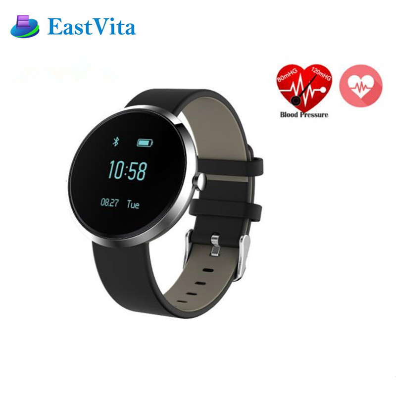 EastVita V06 Watches Blood Pressure Smartband Health Heart Rate Smart Band Alcohol Allergy Fitness Tracker Smart