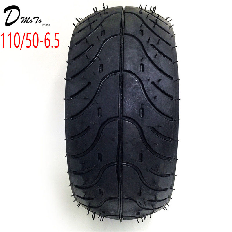 110/50 6.5 inch Pocket Bike Rear Tyres Mini Racing bike tire tubeless vacuum for 47cc/49cc 2 stroke air cooled small motorcyle