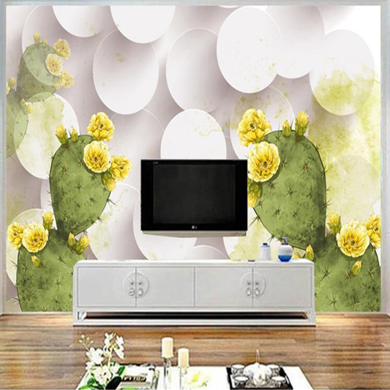 Custom Photo Wallpapers for Walls 3D Stereoscopic Modern White Florals Wall Papers for Living Room Home Decor Flowers Gold Mural custom wallpaper for walls 3 d photo wall mural pastoral country road tv walls 3d nature wallpapers for living room