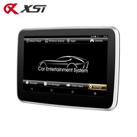 XST 10.1 Inch Android 6.0 Car Headrest Mp5 Monitor IPS Touch Screen HD 1080P Video WIFI/HDMI/USB/SD/Bluetooth/FM Transmitter