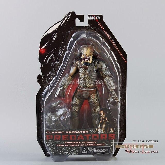"""ขายร้อนNECA Predator Movie Series 1ตัวอักษรPredator Action Figureของเล่นPVC 8 """"ขายปลีกจัดส่งฟรี"""