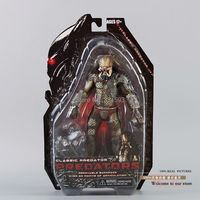 Free Shipping NECA Predator Movie Series 1 Classic Predator PVC Action Figure Model Toy 8 20cm