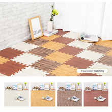 4/6/9 pcs EVA Splice Childrens Carpets 30cm Square Puzzle Carpet 1.2cm Thickening Waterproof Floor Mats