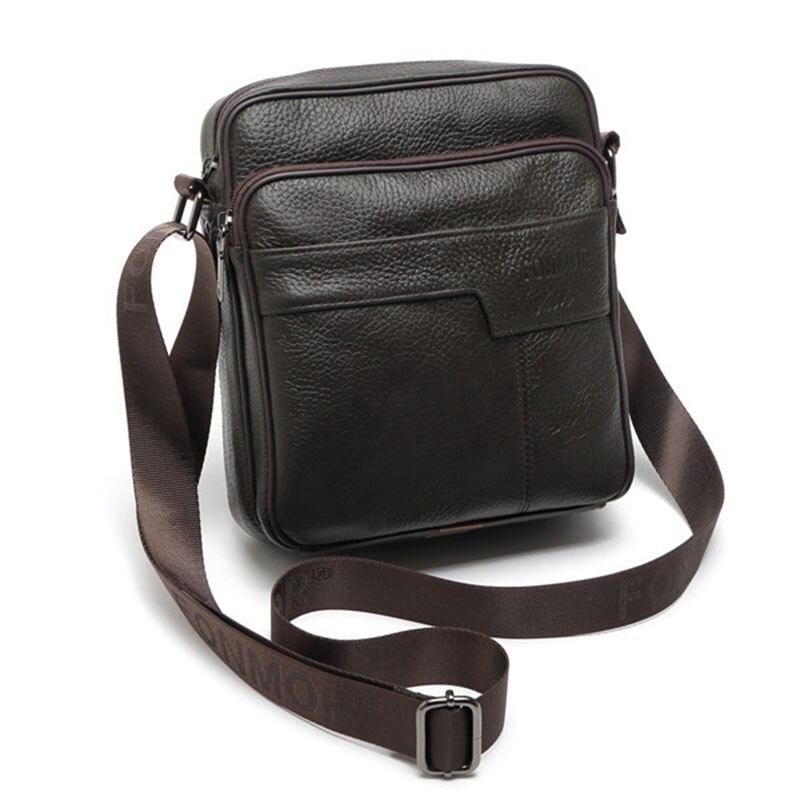 a3564c71c5dc Из натуральной коровьей кожи сумка-мессенджер большой мужской портфель  Повседневное черный Кофе Малый мужской Crossbody