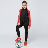 Soccer Jerseys 2019 Kids Men Women Soccer Jerseys Sets Uniform Pockets Long Football Training Suit Girl Football Kits Sportswear