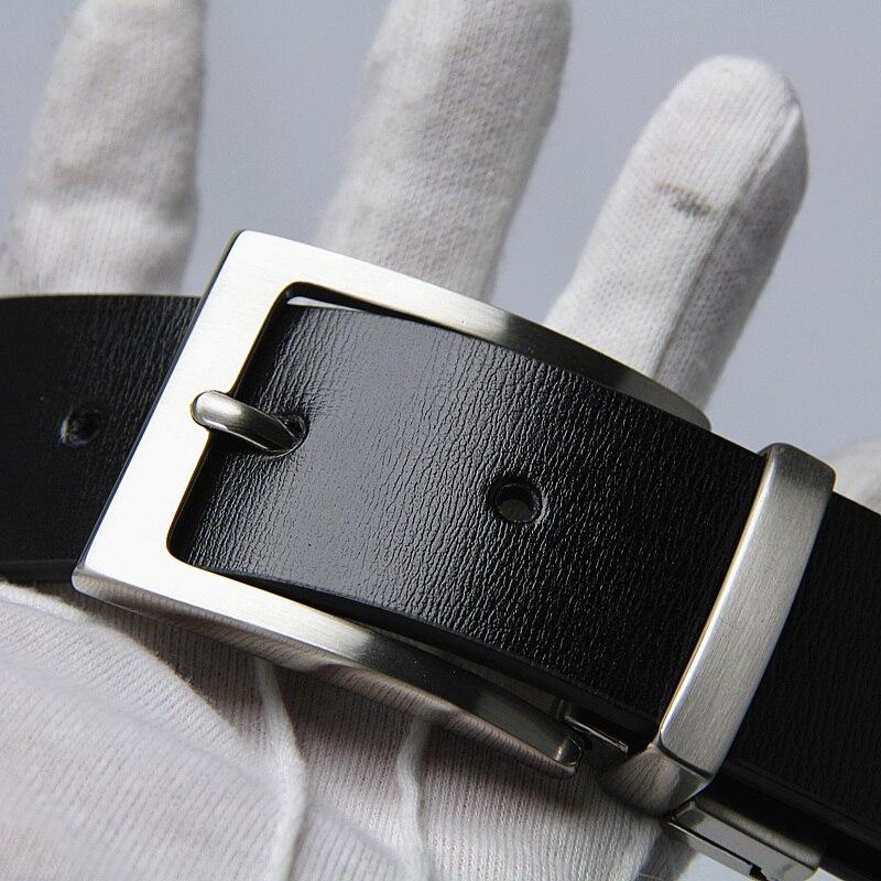 Nejnovější designérské pásy pánské vysoce kvalitní kráva pravá kůže vintage špendlíky přezky pánské pásy luxus
