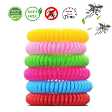 6Pcs/lot Random Color Mosquito Repellent Bracelet Anti Mosquito Bracelet Mosquito Repellent Wristband For Kids Mosquito Killer