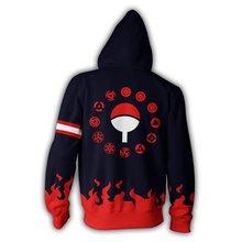 Naruto Fuego Sudadera Con Capucha